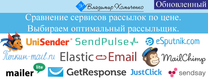 Лучший бесплатный сервис email рассылок