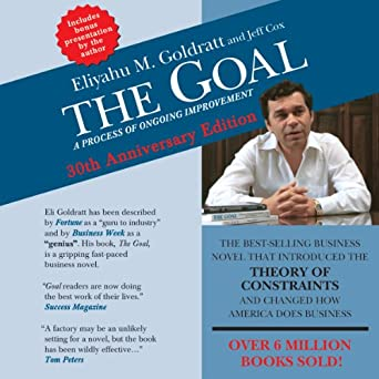 The Goal: A Process of Ongoing Improvement - Eliyahu M. Goldratt, Jeff Cox - quotes, rating, reviews, where to buy