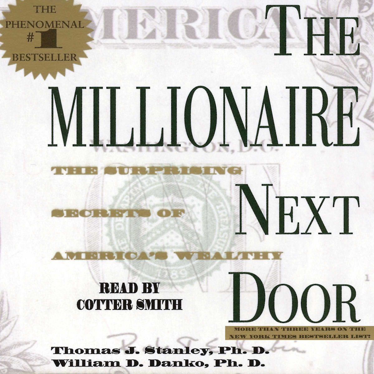 The Millionaire Next Door: The Surprising Secrets of America's Wealthy - Thomas J. Stanley, William D. Danko Act Like a Success, Think Like a Success: Discovering Your Gift and the Way to Life's Riches - Steve Harvey - reviews for audiobook - quotes, rati