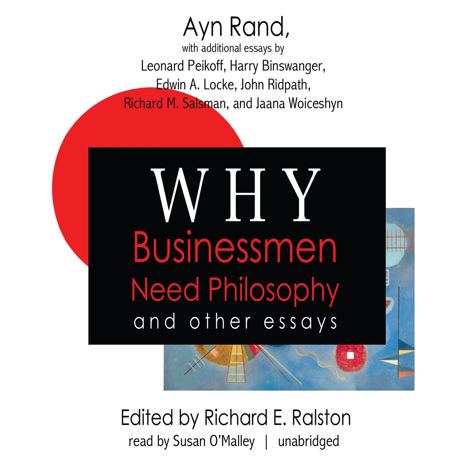 Why Businessmen Need Philosophy - Ayn Rand - reviews for audiobook - reviews, quotes, summary