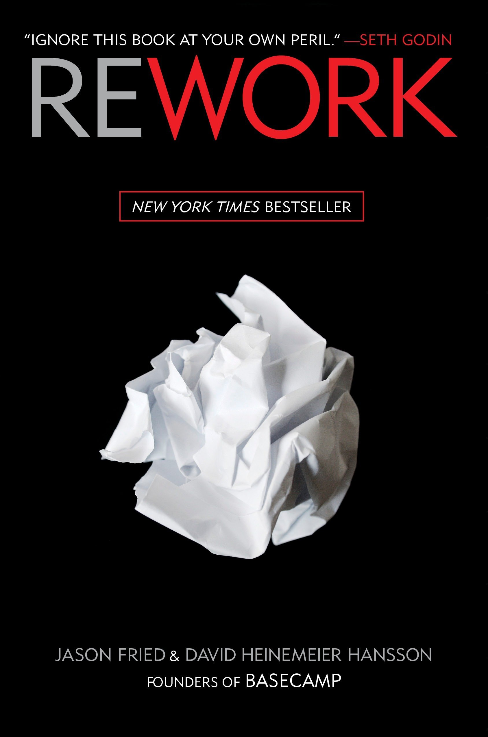 Rework - Jason Fried,  David Heinemeier Hansson- reviews for audiobook - reviews, quotes, summary